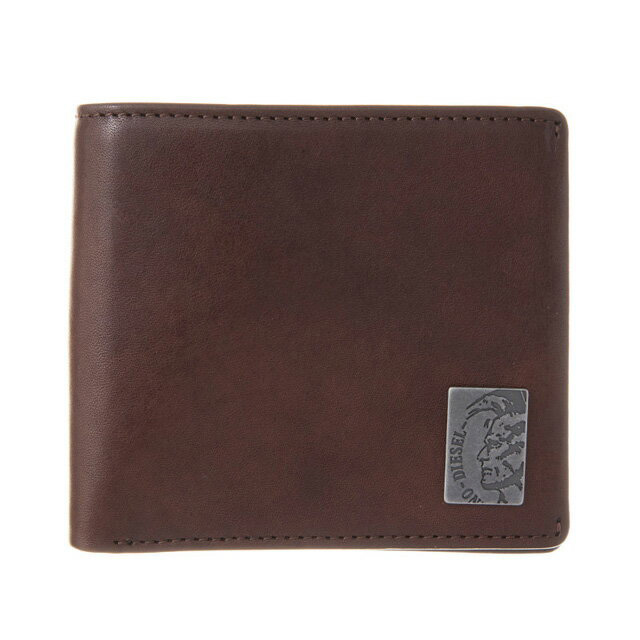 ディーゼル DIESEL 財布 X04996 PR013 T2189 小銭入れ付き 二つ折り財布 ブラウン