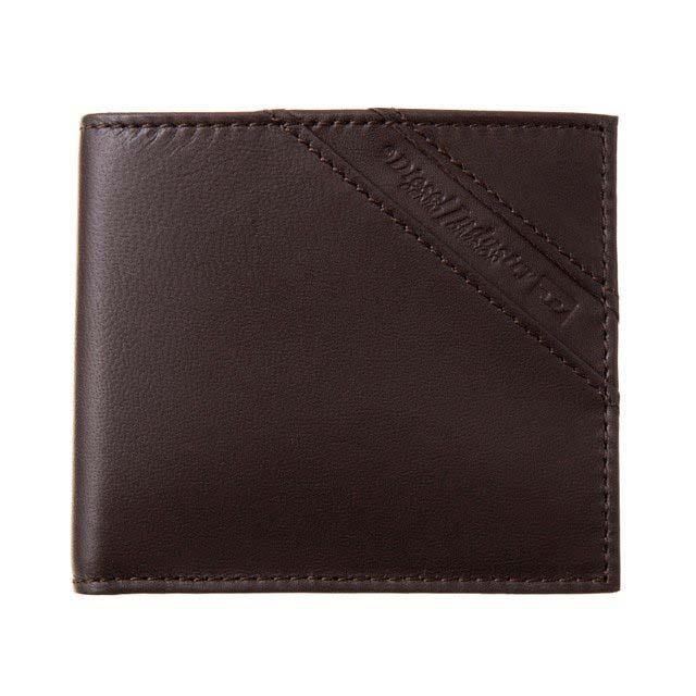 ディーゼル DIESEL 財布 X05081 P1507 T2184 小銭入れ付き 二つ折り財布 COFFEE BEAN ダークブラウン
