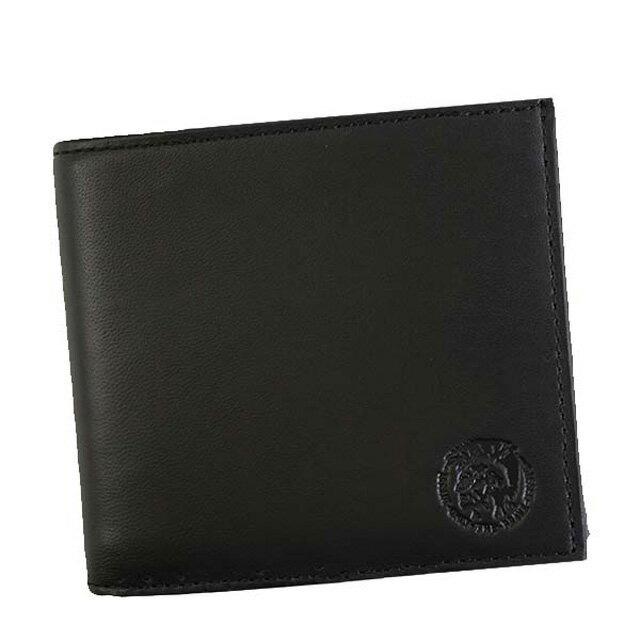 ディーゼル DIESEL X05081 P1508 T8013 HIRESH S 小銭入れ付き 二つ折り財布 BLACK ブラック