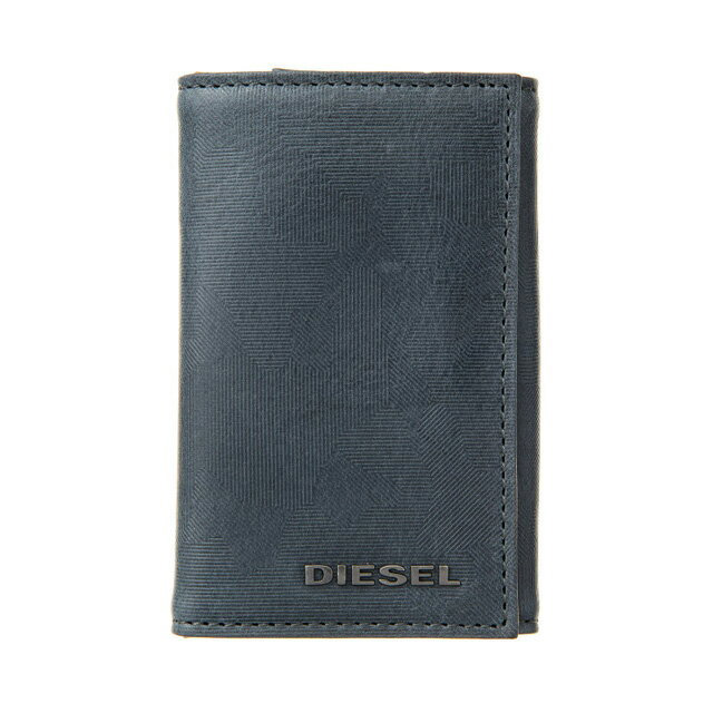 ディーゼル DIESEL X05352 P1683 H6712 キーリング付き 6連キーケース LEGION BLUE-BUTTERUM ダークブルー系迷彩柄+キャメルベージュ系