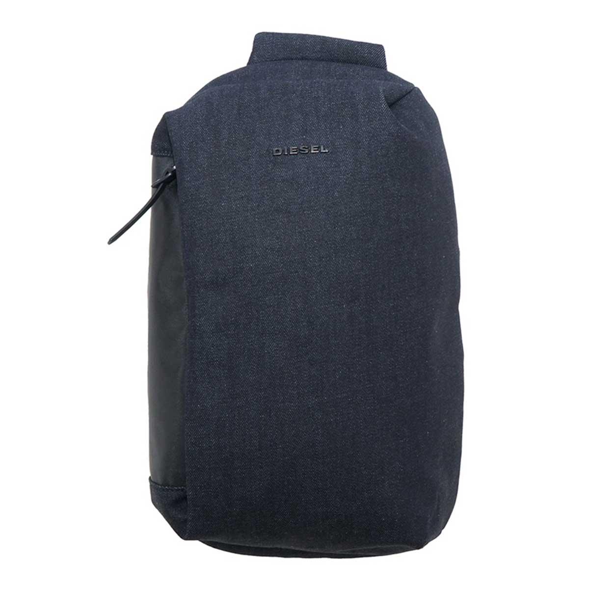 ディーゼル DIESEL バッグ X06607 PR413 H6488 D-SUBTORYAL DENIM MO ボディバッグ 斜めがけバッグ ショルダーバッグ BLUE JEANS デニムブルー