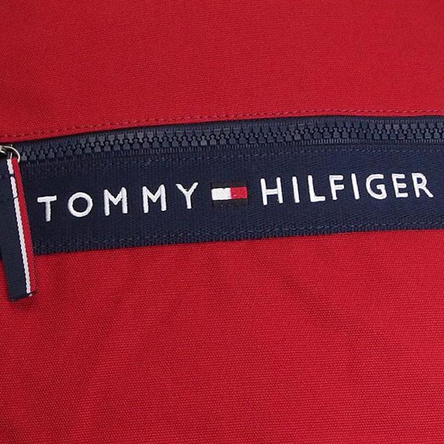 tomitomihirufiga TOMMY HILFIGER背包帆布背包包红+深蓝帆布红系统BACKPACK RED&NAVY小皮包bag人分歧D男女两用新作品名牌新货送正规的漂亮的情人节白色情人节礼物