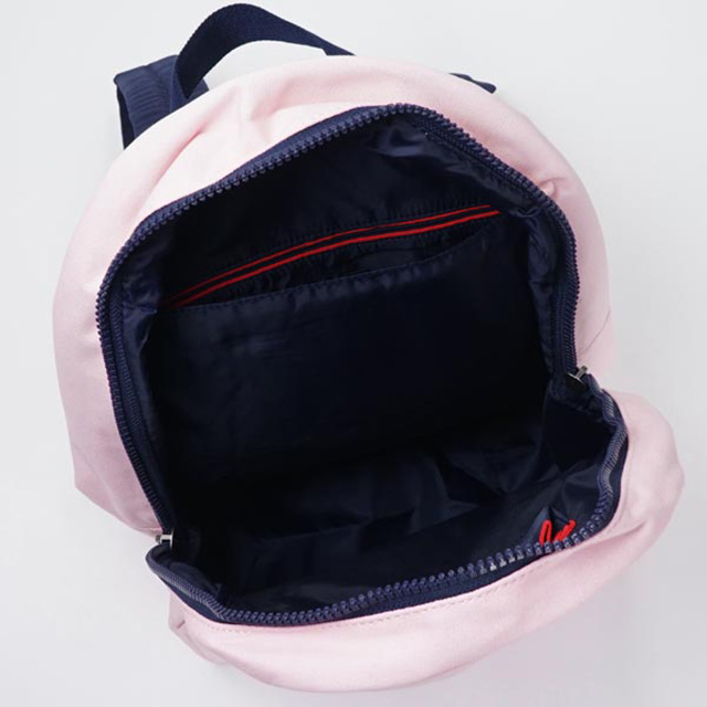 Tommy Tommy Hilfiger TOMMY HILFIGER backpacks backpack light pink + Navy canvas pink series BACKPACK PINK &NAVY school bag ladies women new brand new regular fashion cute Valentine's day white gift gift bag