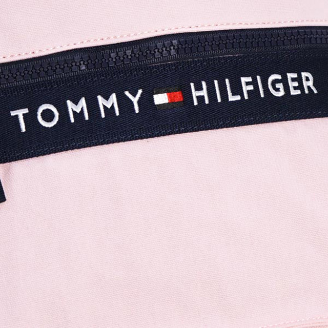 59e83443c3 Tommy Tommy Hilfiger TOMMY HILFIGER backpacks backpack light pink + Navy  canvas pink series BACKPACK PINK  NAVY school bag ladies women new brand  new ...