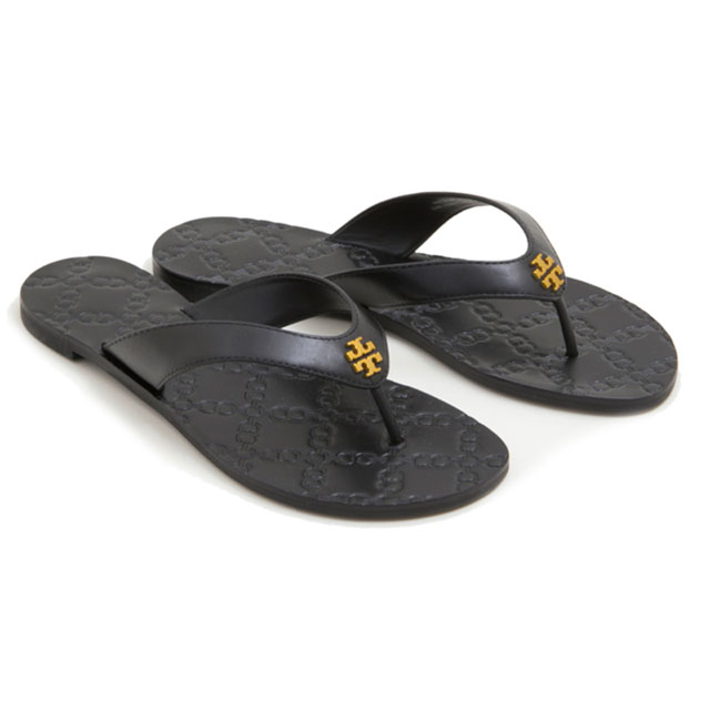 1341772af41 Tolly Birch TORY BURCH sandals beach sandal 39670 001 MONROE THONG SANDAL  Monroe song sandals BLACK black