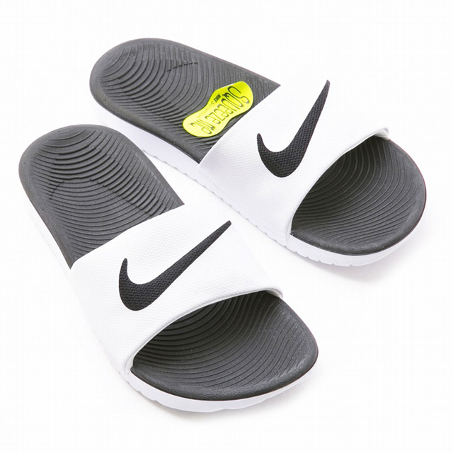 6e51c0ceb6a5c0 An indoor Velcro sports brand for 819352 100 KAWA SLIDE(GS PS)  ホワイトブランドベナッシシンプル fashion office rubber slippers sandals ぺたんこ room for the  ...
