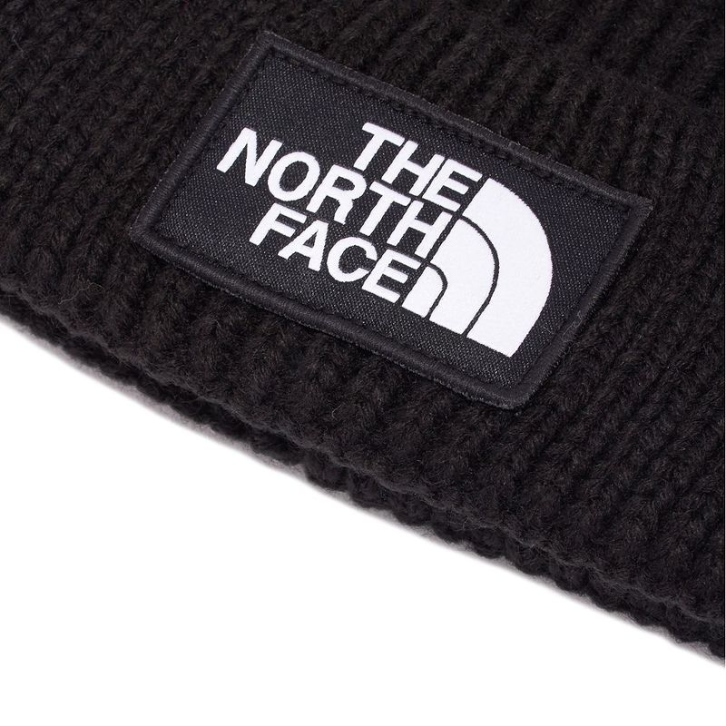 60a2291a338 North Face THE NORTH FACE knit hat knit cap hat men gap Dis NF0A3FJX JK3 LOGO  BOX CUFFED BEANIE logo box caph dobby knee TNF Black black