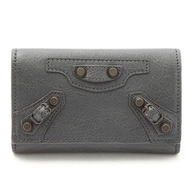8d33af25762a Salada Bowl  Six 253048 BALENCIAGA key case balenciaga key case Lady s  brand THE CLASSIC OSAKA key case real leather gray D940T 3255