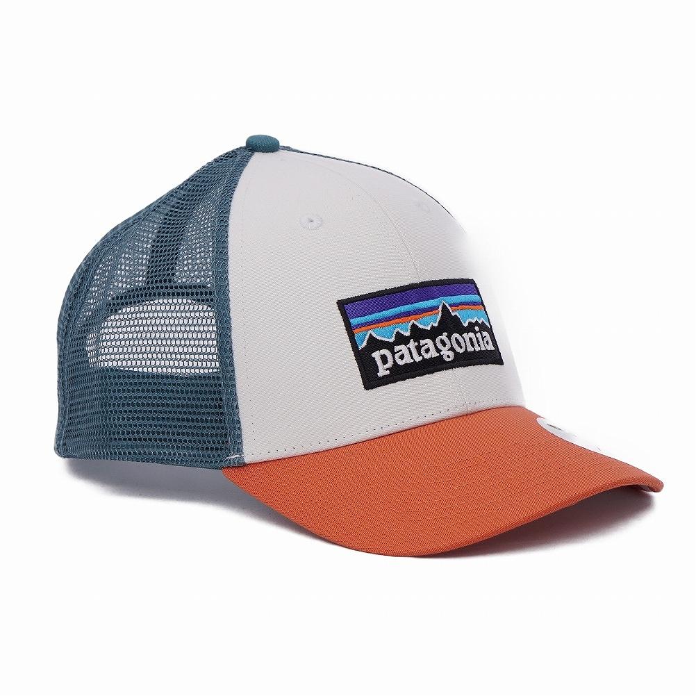 7e3daaae ... Patagonia patagonia mesh cap hat 38016 WHST P-6 Logo Lopro Trucker Hat  P6 logo ...