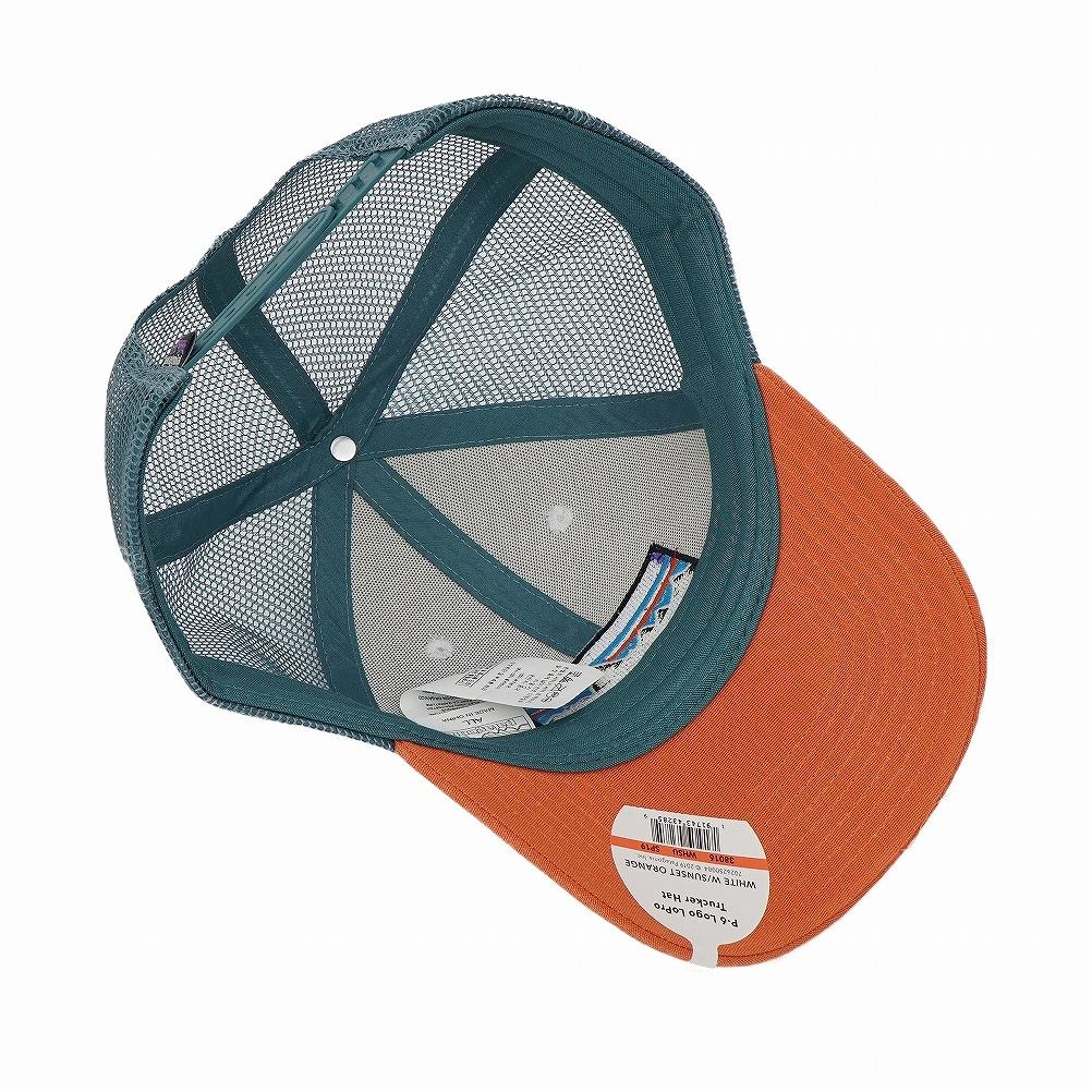 64c5c0fd ... Patagonia patagonia mesh cap hat 38016 WHST P-6 Logo Lopro Trucker Hat  P6 logo