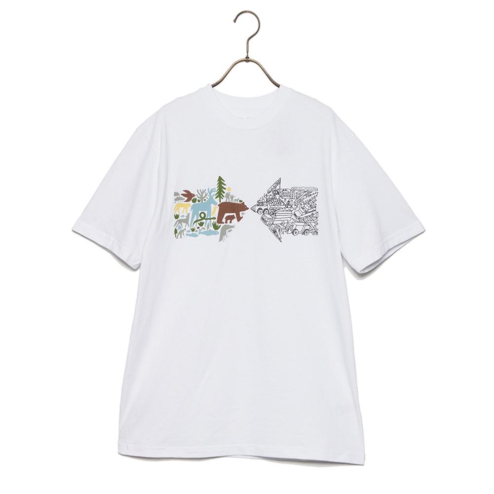 パタゴニア patagonia メンズ Tシャツ 38445 WHI M's Real Riches Responsibili-Tee メンズ リアル リッチズ レスポンシビリティー White ホワイト