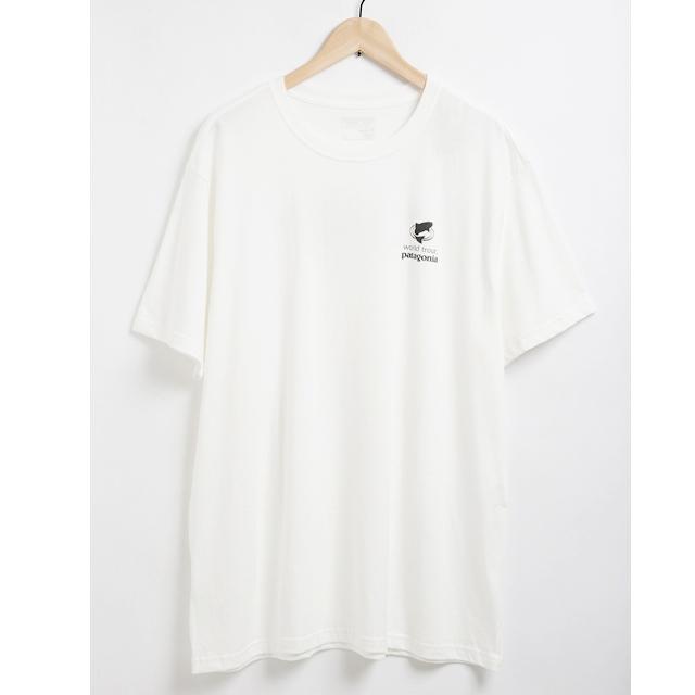 062eca034178a Salada Bowl  White short sleeves T-shirt men organic cotton American ...