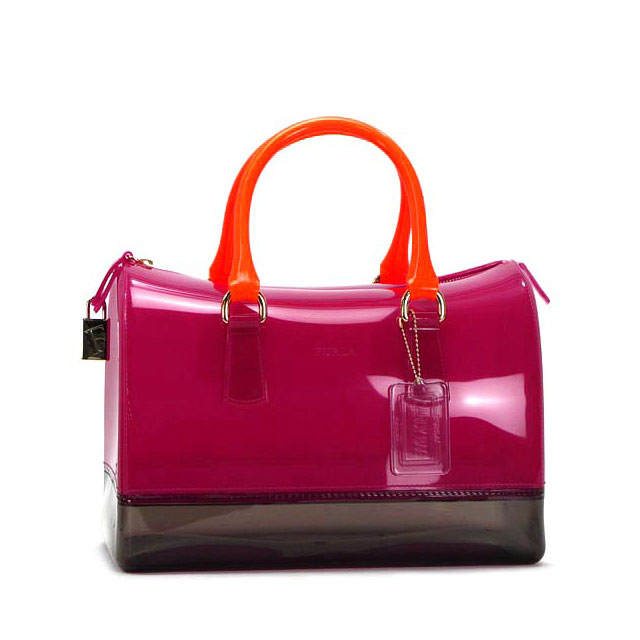 Furla Por Series Candy Bag From Casual Summer That Eared Plastic Bags Are Often Cheesy But In The Hands Of Hung Like This