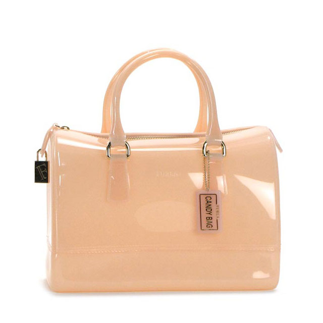 Furla Handbags Boston Bag Candy Satchel Orange Las Summer