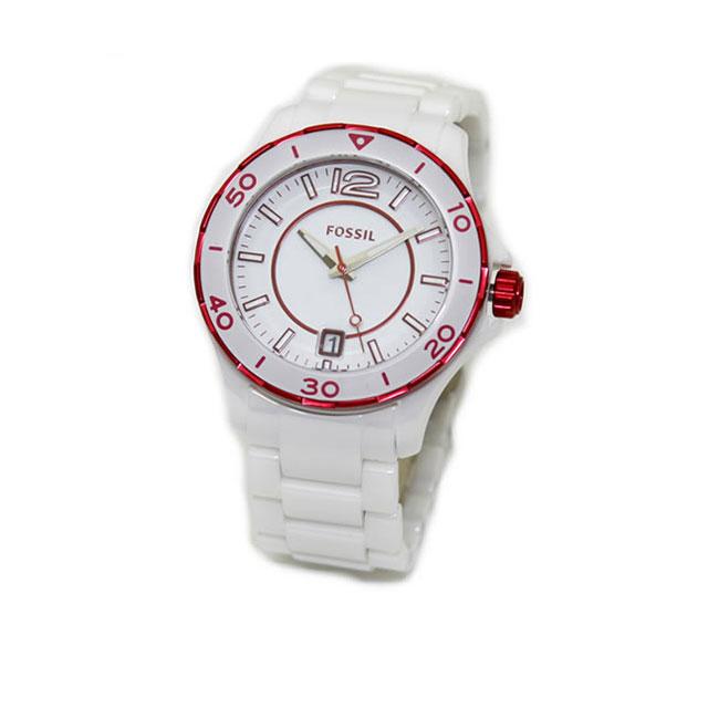 Fossil フォッシル 시계 손목시계 여성용 세라믹 팔찌 시계 CE1051 브랜드 신품
