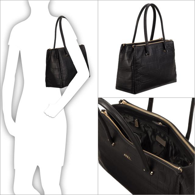 フルラ Furla Bag Lady Tote Handbag Shoulder New Work Brand Lotus M Carryall