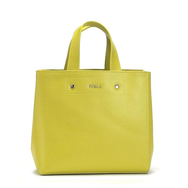 Furla Bag Furla Tote Bag Bda6 Musa S Musa Small Tote 754598 Yellow Brand Bag Ladies Leather Brand New Unused Gift Women Birthday
