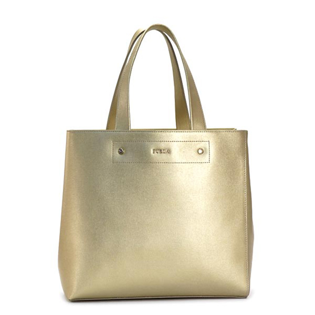FURLA バッグ フルラ トートバッグ BDA7 MUSA M ムーサ ミディアム トート 760513 ライトゴールド ブランドバッグ レディース 本革 新品 未使用 プレゼント 女性 誕生日