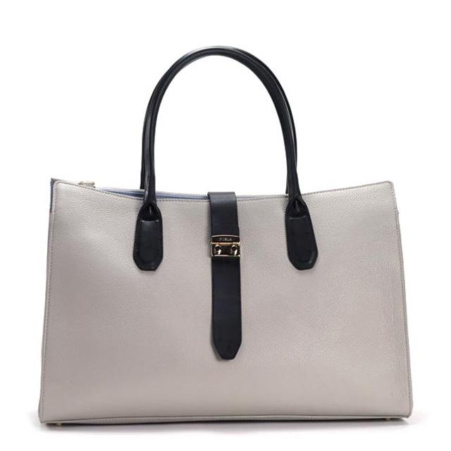 9e9e5521ca284 FURLA bag FURLA tote bag BEQ7 FLAIR L flare large tote 774896 grey brand bag  ladies leather brand new unused gift women birthday