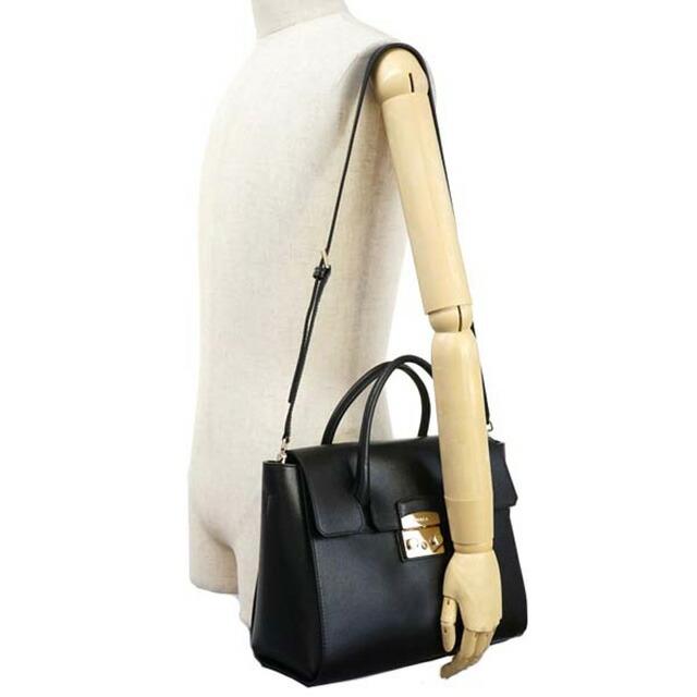 bc463c5685a9 FURLA bag FURLA tote bag BGZ8 METROPOLIS M SATCHEL metropolis medium satchel  shoulder Tote 820704 black brand bag ladies leather brand new unused gift  women ...
