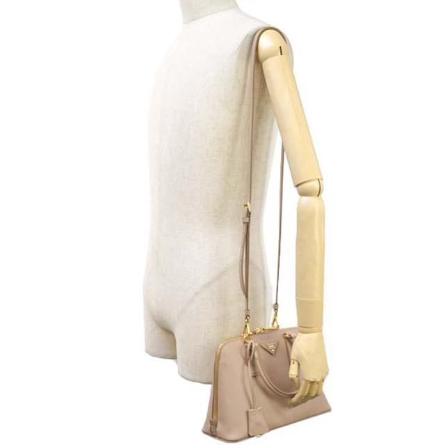 3656ba68c545 ... Prada PRADA 1BA838 NZV F0770 2 shoulder straps with Cameo CAMMEO pink  beige ...