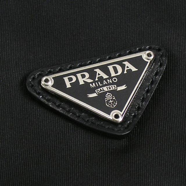 프라다 PRADA 파우치 1 N0011 ZMX F0002 나이론네로 NERO 블랙+실버