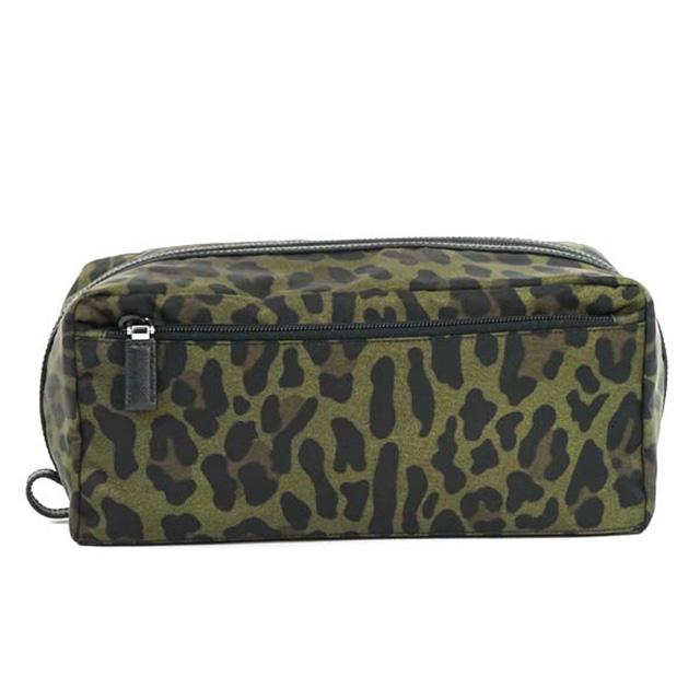 bcb0d0aa0f3e Salada Bowl  Prada PRADA pouch makeup bag Leopard Leopard pattern ...