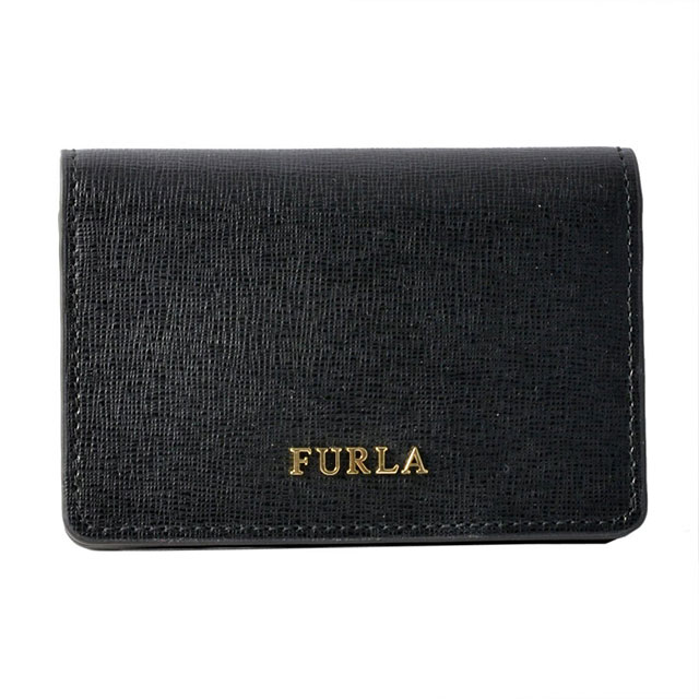 フルラ FURLA 名刺入れ カードケース BABYLON S バビロン BUSINESS CARD CASE ONYX ブラック PS04 874701