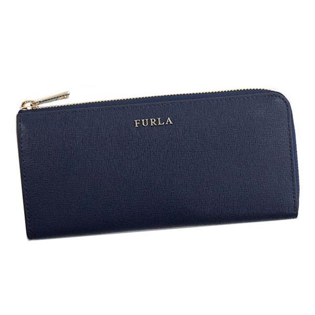 e4b0cd3a39 フルラ FURLA wallet L-shape fastener long wallet BABYLON XL ZIP AROUND L  Babylon NAVY ...