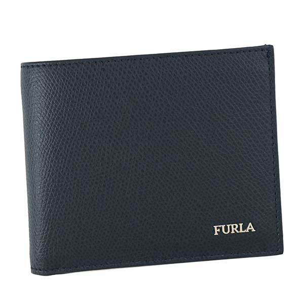 フルラ FURLA メンズ 財布 二つ折り財布 PT00 938139 MARTE M BIFOLD COIN マルテ ビフォルド コイン BLU ダークブルー