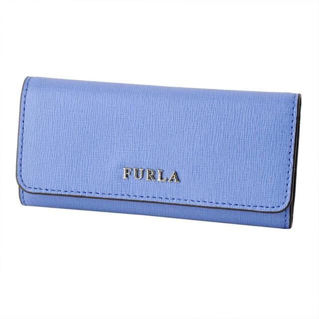 フルラ FURLA キーケース 6連キーケース BABYLON KEYCASE LUNGO バビロン CELESTE ブルー系 RJ09 939245