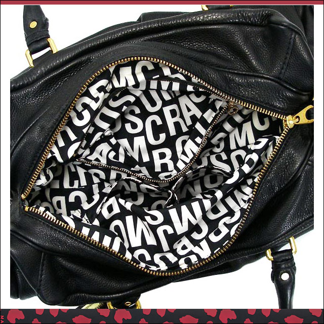 Bags also bag shoulder diagonally over handbag leather leather Marc by Marc Jacobs MARC BY MARCJACOBS black women's M3PE090 black 001 fs2gm