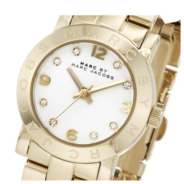 マークバイマークジェイコブス MARC BY MARC JACOBS 腕時計 ゴールドカラーの小振りなレディース時計 ブランド