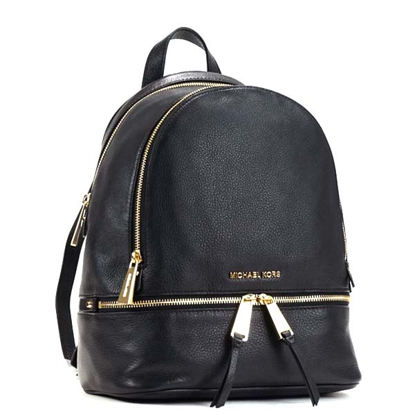 1971b71cdd013b Michael Kors MICHAEL KORS Michael Kors backpack 30S5GEZB1L 001 MD BACK PACK  RHEA ZIP BLACK MK ...