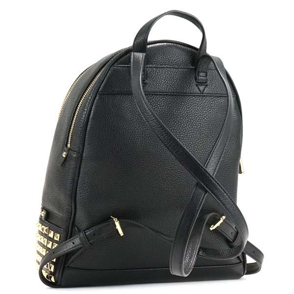 b07b552e82d4 Michael Kors MICHAEL KORS Michael Kors backpack 30S5GEZB5L 001 MD PYR STUD  BACKPACK RHEA ZIP BLACK MK rucksack shawl black black Lady s present gift  is new