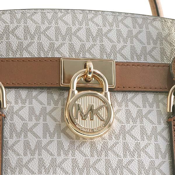 1a1df90eef47 Michael Kors MICHAEL KORS Michael Kors handbag 30T7GHMS7B 150 HAMILTON LG  EW SATCHEL VANILLA MK shoulder bag shawl off-white Lady s present gift is  new