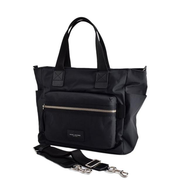 マークジェイコブス MARC JACOBS M0008297 001 ナイロン マザーズバッグ 2WAY ショルダー オムツ換えシート付 Nylon Biker Babybag Black ブラック
