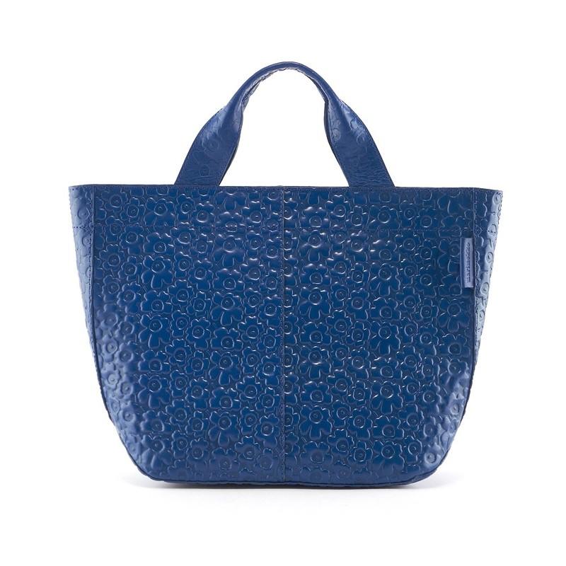 マリメッコ marimekko トートバッグ ハンドバッグ 045703 005 VENJA TOTE BAG BLUE ブルー