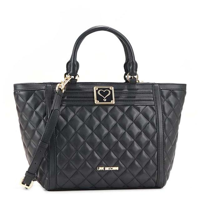 57091f2327c Take a shoulder bag slant at love Moschino LOVE MOSCHINO handbag tote bag  bias, and ...
