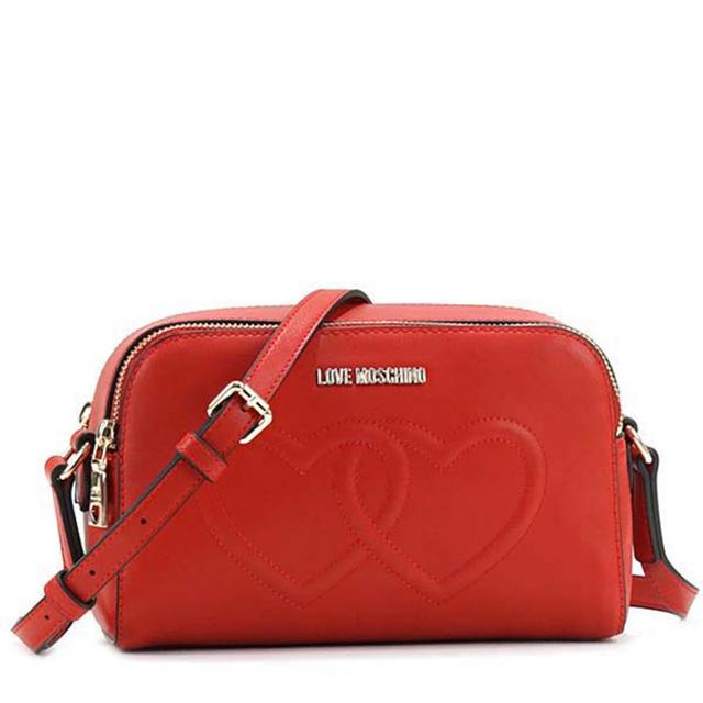 c4f12d12e1d Take a shoulder bag slant at love Moschino LOVE MOSCHINO pochette bias, and  hang a ...
