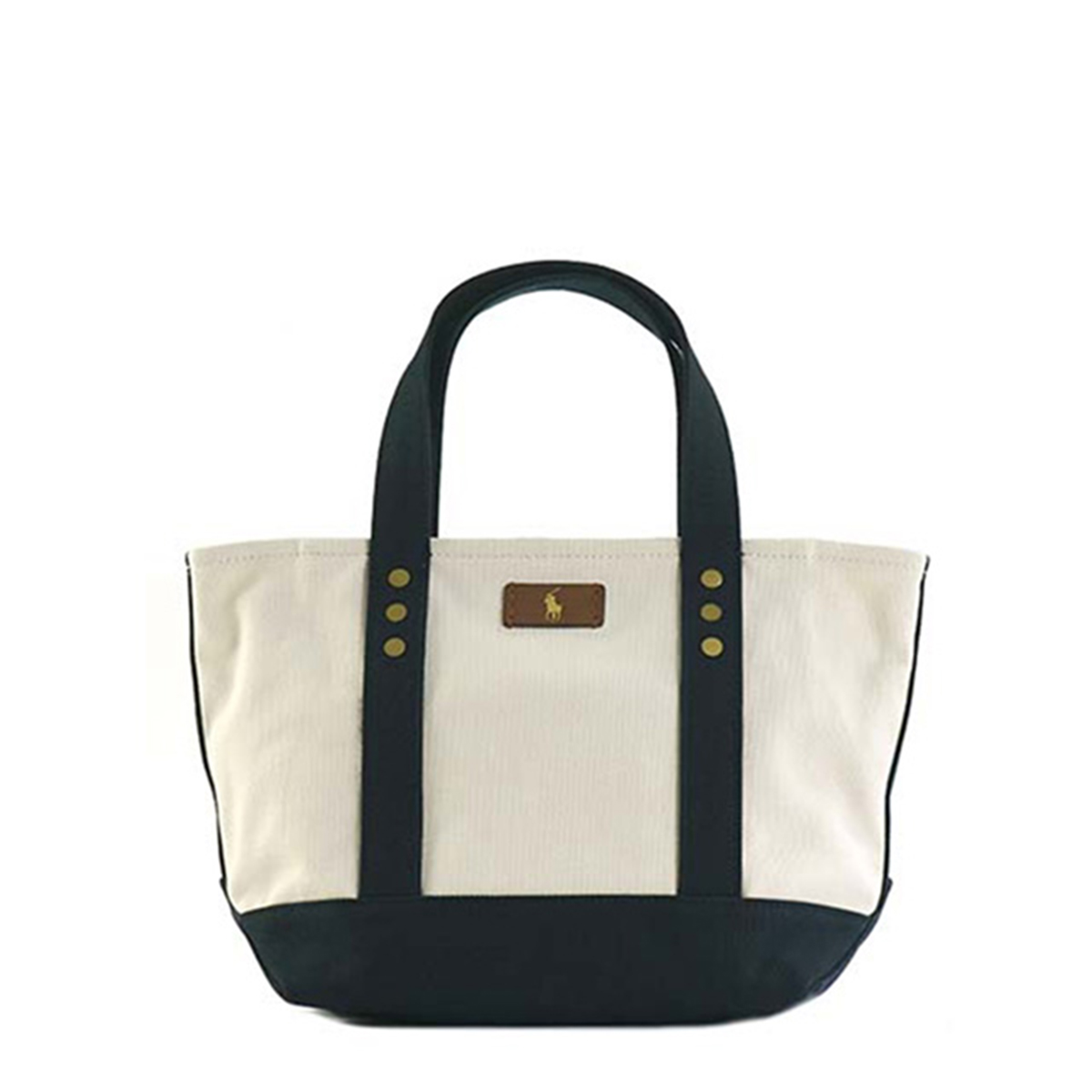 Polo Ralph Lauren Polo Ralph Lauren handbag tote bag shoulder bag Lady s  men canvas purse shoulder back tote bag natural beige navy dark blue Lady s  ... b19410bbab005
