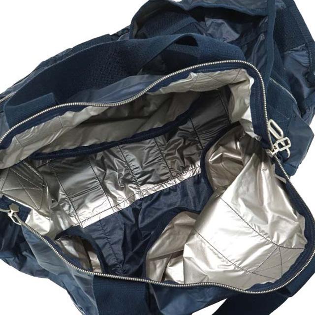 Reply port case shoulder bag LeSportsac bag CR LARGE WEEKENDER 2291 C096  large week ender 2way shoulder Boston bag CLASSIC NAVY C classical music  navy 9b44a1ecbbb15