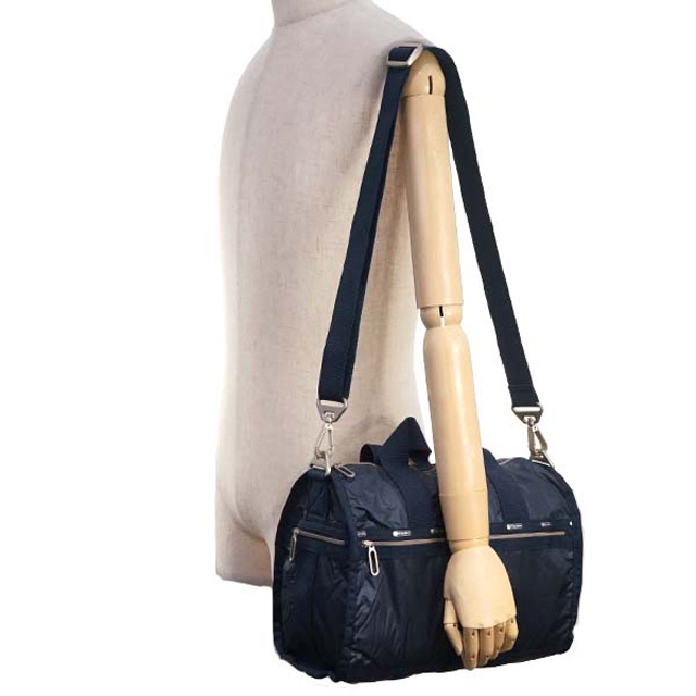 Reply Port Case Shoulder Bag Lesportsac Cr Small Weekender 2293 C096 Week Ender 2way Mini Boston Classic Navy C Classical Music
