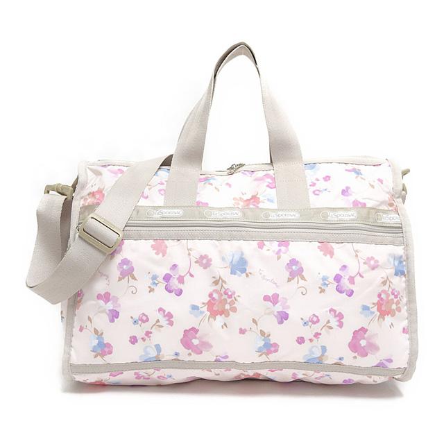 It is shoulder bag IMPRESSIONIST PASTEL pink + flower pattern at reply port  case Boston bag LeSportsac 7184 D378 MEDIUM WEEKENDER medium week ender bias c79446581276e