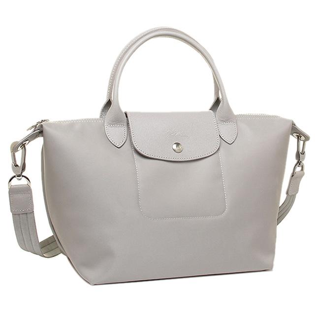 Salada Bowl  Longchamp LONGCHAMP neo play Juno handbags grey ... b8706bedb3