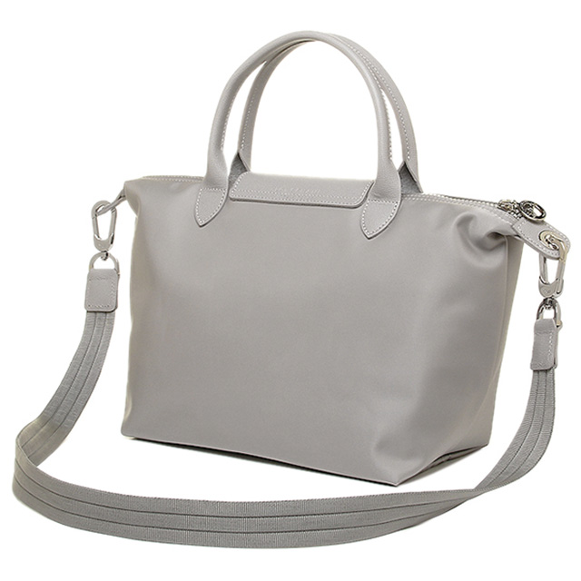 Longchamp Neo Play Juno Handbags Grey Shoulder Bag Women S Le Pliage New Brand 2way Tote Light Commuter School Dress
