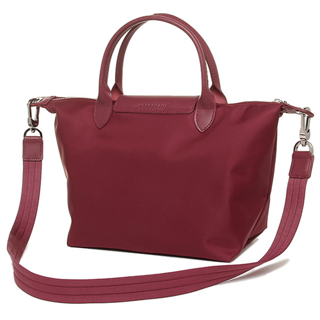 Longchamp Neo Play Juno Handbags Shoulder Bag Red Pink Tote Las Le Pliage New Brand 2 Way Light Commuter School Fashionable