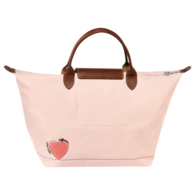 Longchamp LONGCHAMP pliage tote bag pink a4 bag handbag lplage Tote  shopping bag nylon ladies light weight genuine brand new commuter school  birthday gifts ... 033acc5dfc34c
