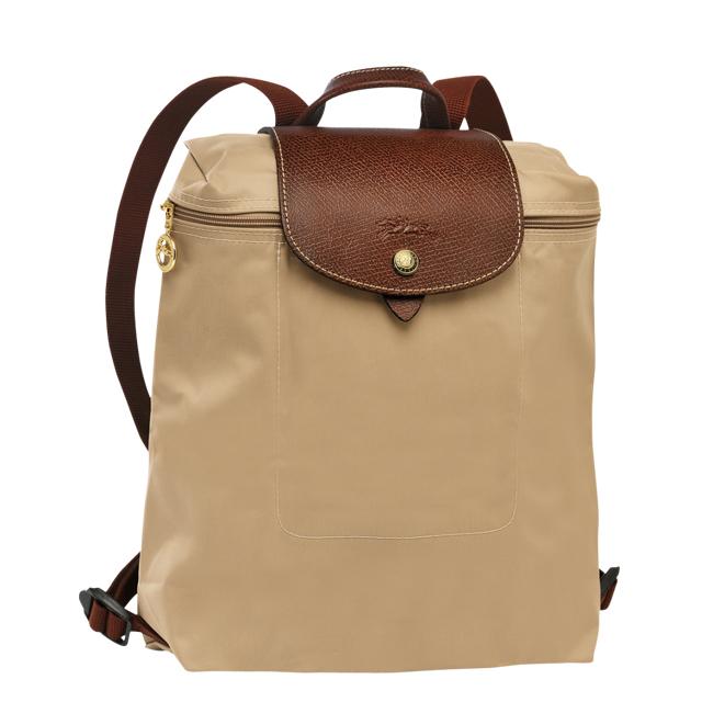82b055847628 Travel light Longchamp LONGCHAMP backpack folding backpack lplage beige rucksack  backpack Le pliage leather nylon cute fashion ladies brand 1699 089 841 ...