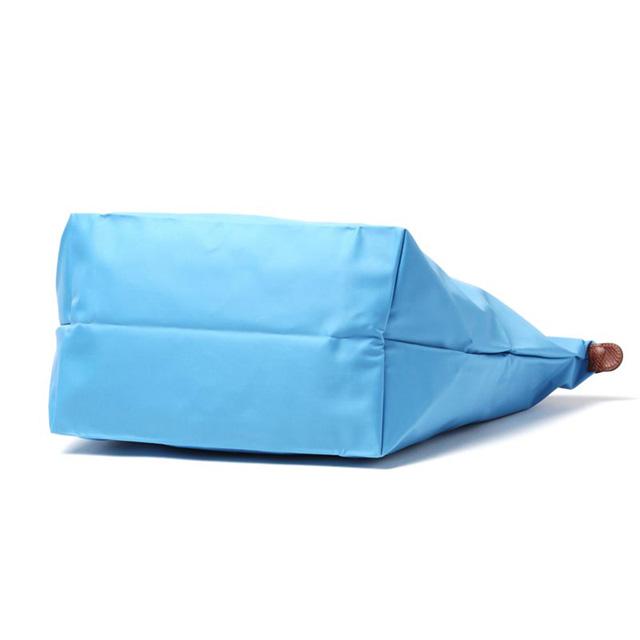 Longchamp LONGCHAMP Le pliage shoulder bag tote bag foldable Tote lplage cornflower (light blue system) /Bleuet light folding women's brand white birthday Christmas gift 1899 089 807
